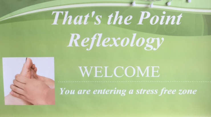 That's the Point Reflexology